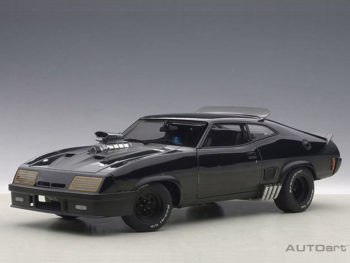 AUTOart 72775 Ford XB Falcon Tuned Version Black Interceptor 1:18 Black