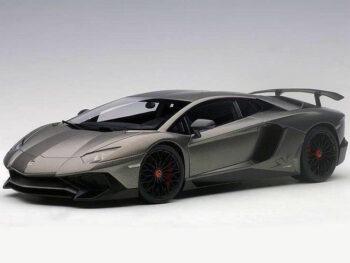 AUTOart 74554 Lamborghini Aventador LP750-4 SV 1:18 Grigio Titans / Matte Grey