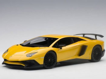 AUTOart 74558 Lamborghini Aventador LP750-4 SV 1:18 Metallic Yellow