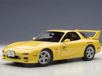 AUTOart 75966 Initial D Mazda Efini RX-7 FD3S 1:18 Yellow