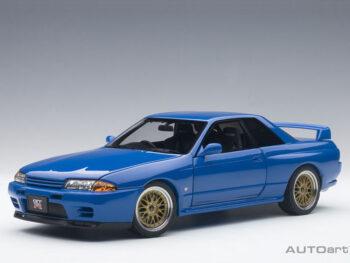 AUTOart 77415 Nissan Skyline GT-R R32 V-SPEC II Tuned Version 1:18 Blue