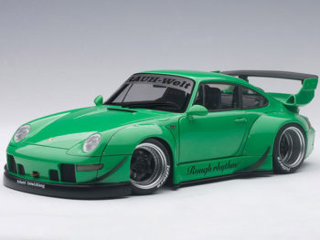 AUTOart 78151 Porsche RWB 993 1:18 Green with Gun Grey Wheels