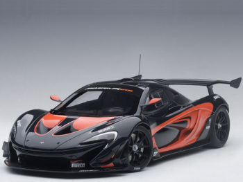 AUTOart 81543 McLaren P1 GTR 1:18 Dark Grey Metallic with Orange Accent