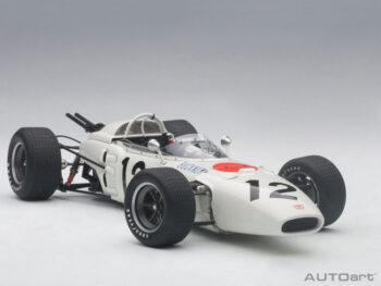 AUTOart 86598 Honda RA272 F1 Grand Prix Mexico 1965 Ronnie Bucknum #12 1:18 White