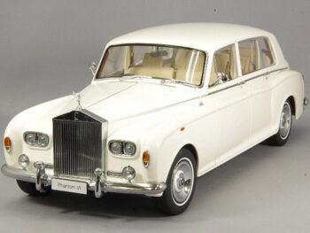 Kyosho 08905 WO Rolls Royce Phantom VI 1:18 White