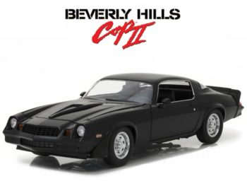 Greenlight 13501 Beverly Hills Cop 2 1978 Chevrolet Camaro Z/28 1:18 Black