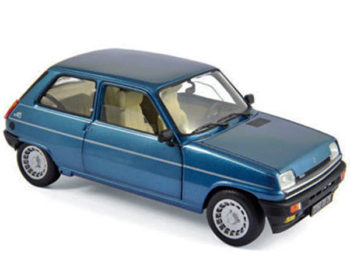 Norev 185157 1981 Renault Alpine 5 1:18 Blue