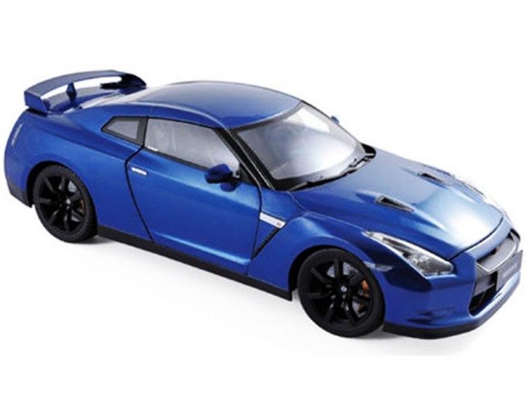 Norev 188052 2008 Nissan Skyline GTR R35 1:18 Blue