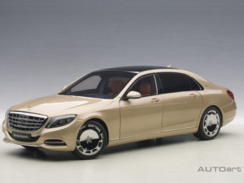 AUTOart 76294 Mercedes Benz Maybach S-Klasse S600 1:18 Champagne Gold