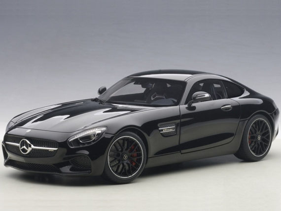 AUTOart 76313 Mercedes Benz AMG GT S 1:18 Gloss Black