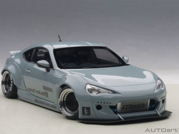 AUTOart 78759 Rocket Bunny Toyota 86 1:18 Concrete Grey with Black Wheels