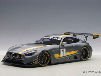 AUTOart 81530 Mercedes Benz AMG GT3 Presentation Car #1 1:18 Grey