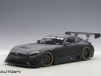 AUTOart 81532 Mercedes Benz AMG GT3 1:18 Plain Color Version Matte Black