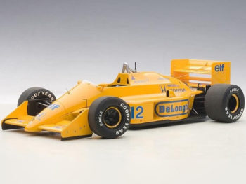 AUTOart 88728 Lotus 99T Honda F1 Japanese 1987 Senna #12 1:18 without Lotus Logo