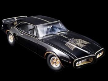 Acme A1805207 East Bound & Down 1967 Pontiac Firebird 1:18 Black