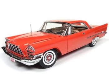 Autoworld Amm1110 60th Anniversary 1957 Chrysler 300C 1:18 Red
