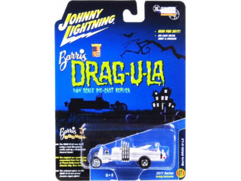 Johnny Lightning JLSS003 The Munsters Barris Dragula 1:64 Chase White Lightning