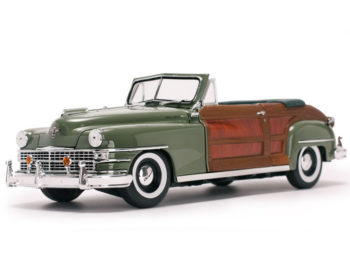 Sun Star 6142 1948 Chrysler Town & Country 1:18 Green