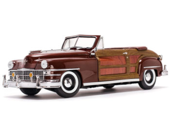 Sun Star 6143 1948 Chrysler Town & Country 1:18 Brown