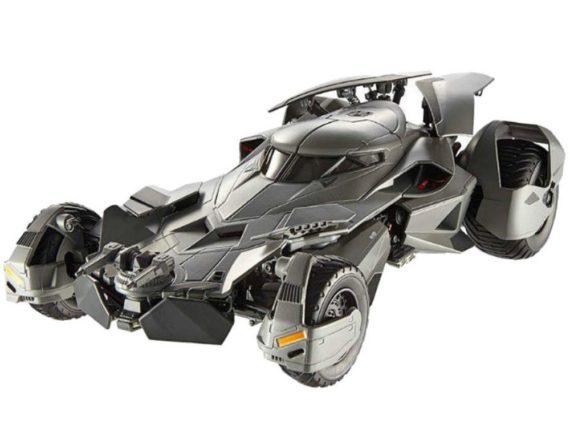 Hot Wheels CMC89 Elite Batman V Superman Dawn of Justice Batmobile 1:18 Grey