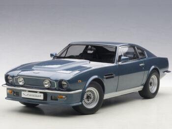 AUTOart 70223 1985 Aston Martin V8 Vantage 1:18 Chichester Blue
