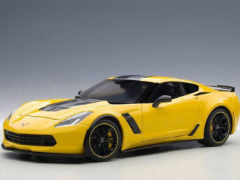 AUTOart 71260 Chevrolet Corvette C7 Z06 C7R 1:18 Racing Yellow