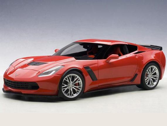 AUTOart 71262 Chevrolet Corvette C7 Z06 1:18 Torch Red