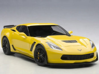 AUTOart 71263 Chevrolet Corvette C7 Z06 1:18 Racing Yellow