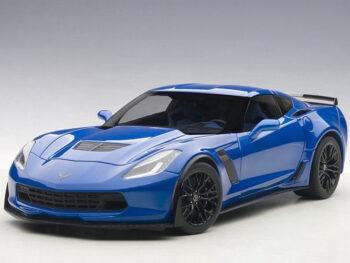 AUTOart 71265 Chevrolet Corvette C7 Z06 1:18 Laguna Blue