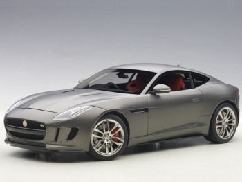 AUTOart 73654 2015 Jaguar F-Type R Coupe 1:18 Matte Grey