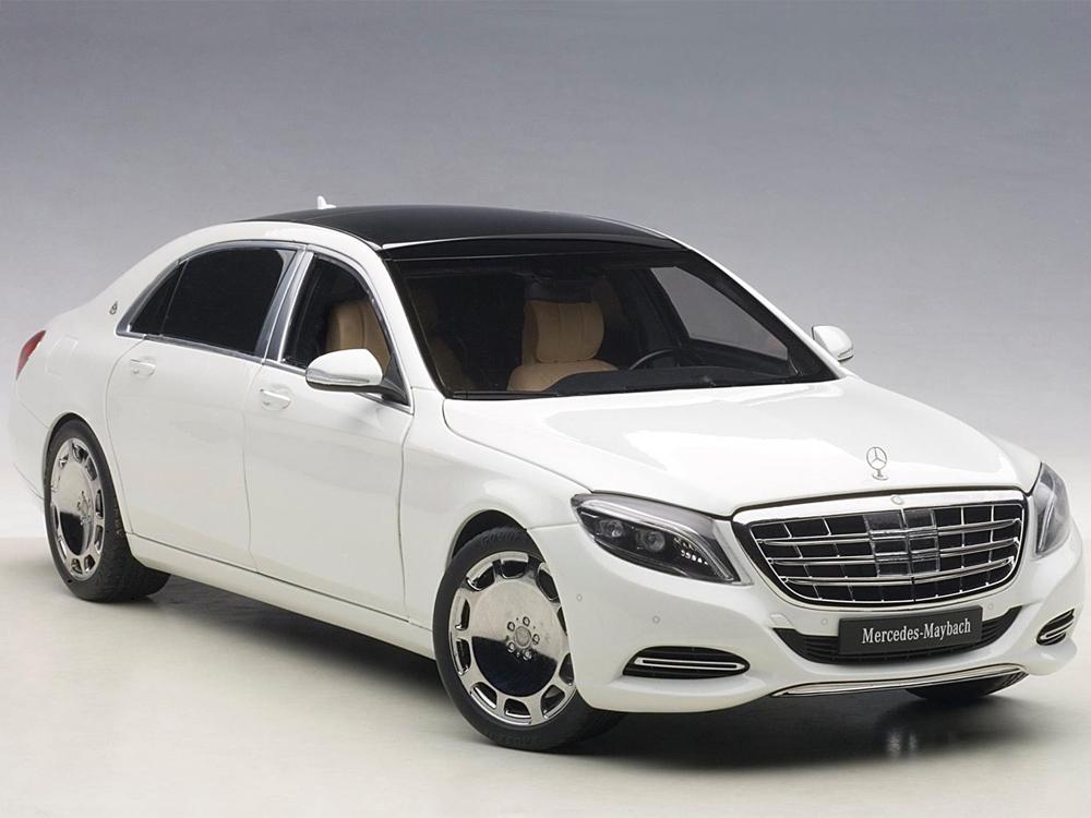 AUTOart 76291 Mercedes Benz Maybach S Klasse S 600 1:18 White