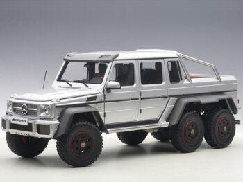 AUTOart 76301 Mercedes Benz G63 6×6 1:18 Silver