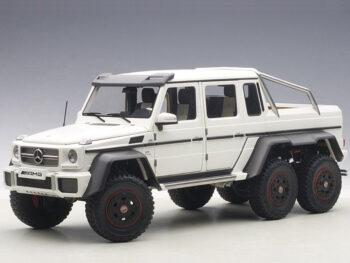AUTOart 76303 Mercedes Benz G63 6×6 1:18 Matte White