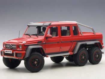 AUTOart 76304 Mercedes Benz G63 6x6 1:18 Red