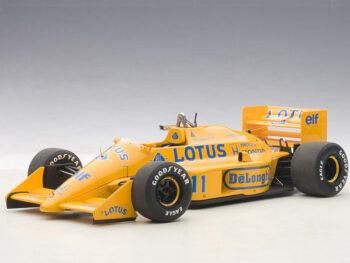 AUTOart 88726 Lotus 99T Honda F1 Japanese GP 1987 S. Nakajima #11 1:18 Yellow