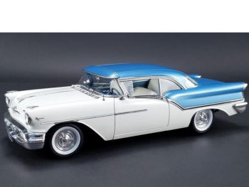 Acme A1808003 1957 Oldsmobile Super 88 1:18 Blue / White