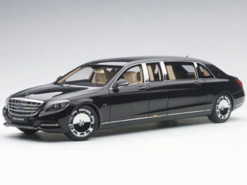 AUTOart 76297 Mercedes Benz Maybach S 600 Pullman 1:18 Black