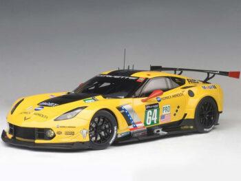 AUTOart 81604 Chevrolet Corvette C7 R Le Mans 24 Hrs 2016 #64 1:18 Yellow