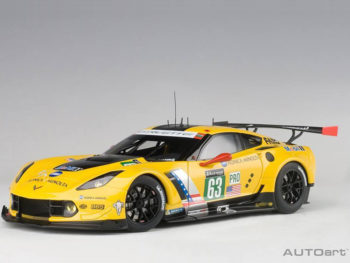 AUTOart 81605 Chevrolet Corvette C7 R Le Mans 24 Hrs 2016 #63 1:18 Yellow