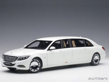 AUTOart 76296 Mercedes Benz Maybach S 600 Pullman Limo 1:18 White