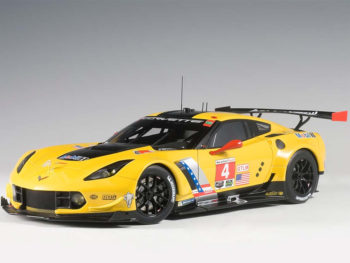 AUTOart 81606 Chevrolet Corvette C7.R Lime Rock 2016 Winner #4 1:18 Oilver Gaving / Tommy Milner