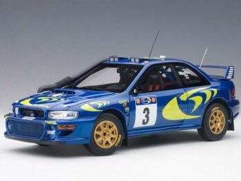 AUTOart 89792 Subaru Impreza WRC 1997 #3 1:18 Colin Mcrae / Nicky Gris