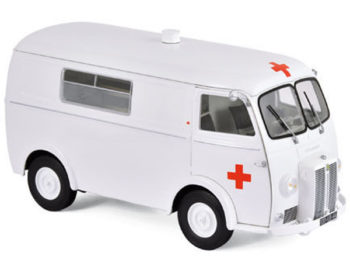 Norev 184699 1963 Peugeot D4B Ambulance 1:18 White