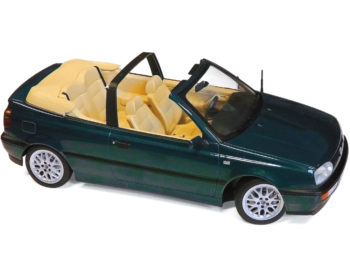 Norev 188431 1995 Volkswagen Golf Cabriolet 1:18 Green Metallic