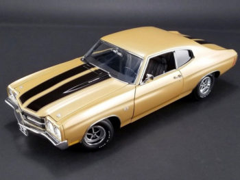 Acme A1805509 1970 Chevrolet Chevelle SS 396 1:18 Gold