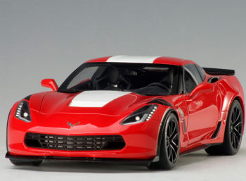 AUTOart 71274 Chevrolet Corvette Grand Sport 1:18 Red with White Stripes