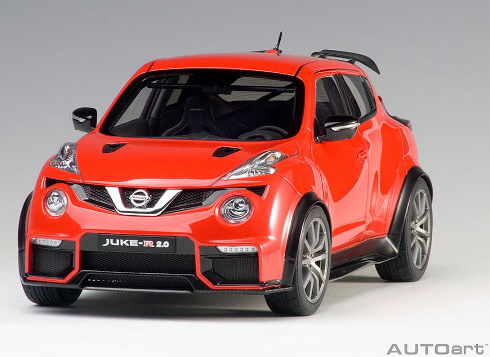 AUTOart 77457 Nissan Juke R 2.0 1:18 Red » BT Diecast