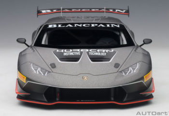 AUTOart 81559 2015 Lamborghini Huracan Super Trofeo #63 1:18 Grey