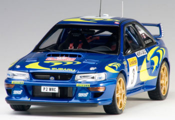 AUTOart 89790 2015 Subaru Impreza WRC 1997 #3 Rally Of Monte Carlo 1:18 Colin Marae / Nicky Grist Blue