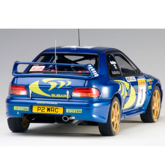 1998 Land Rover Rangerover 2 5 Dse Blue Car For Sale: AUTOart 89790 2015 Subaru Impreza WRC 1997 #3 Rally Of
